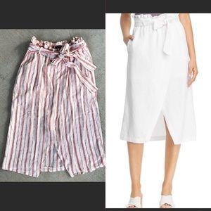 Velvet Heart Zenya Paper bag waist skirt